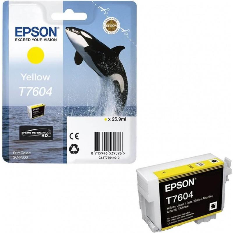 Epson T7604 Y