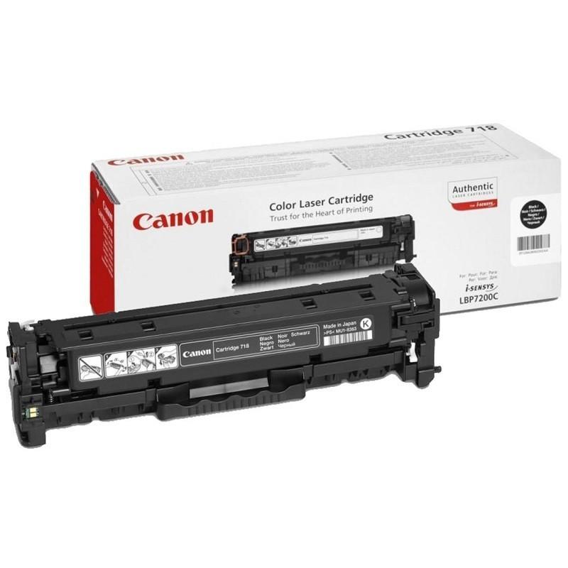 Canon 718 BK