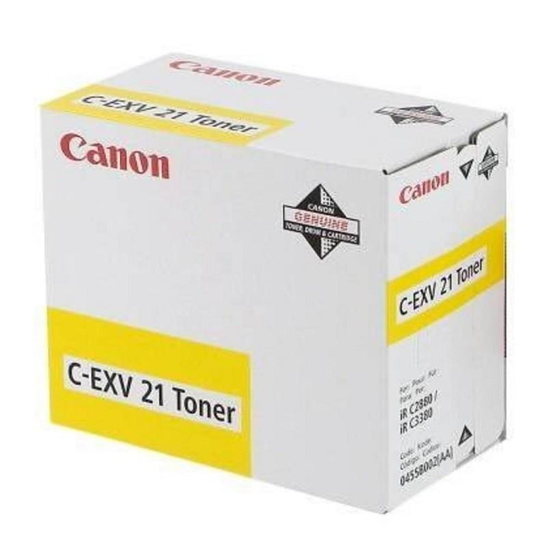 Canon EXV21 Y
