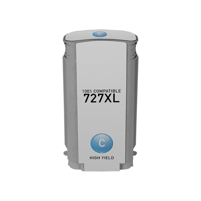 Tinteiro Compatível HP N727XL Ciano