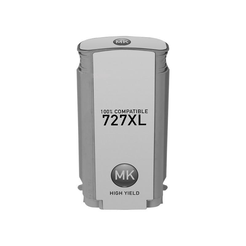 Tinteiro Compatível HP N727XL Preto Matte