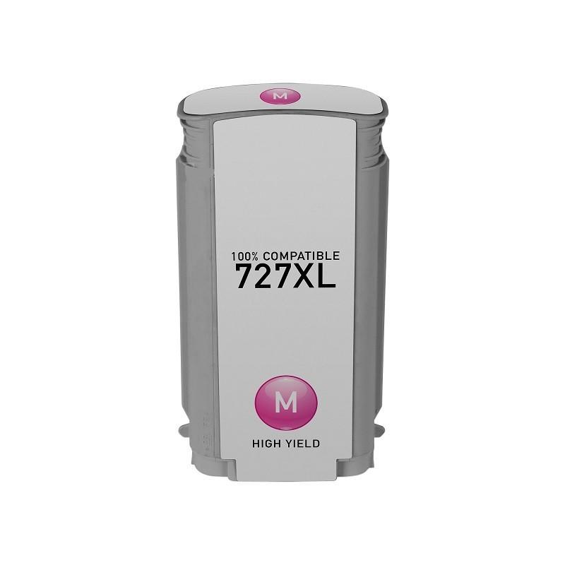 Tinteiro Compatível HP N727XL Magenta