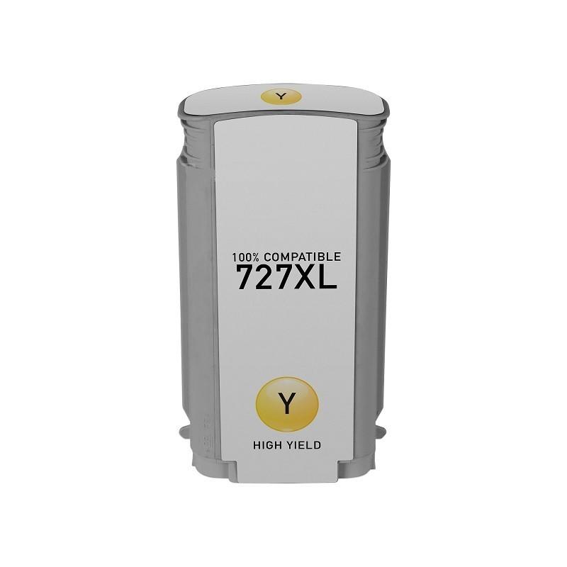Tinteiro Compatível HP N727XL Amarelo
