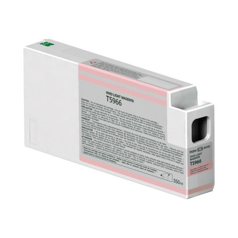 Tinteiro Compatível Epson T5966 Magenta Claro
