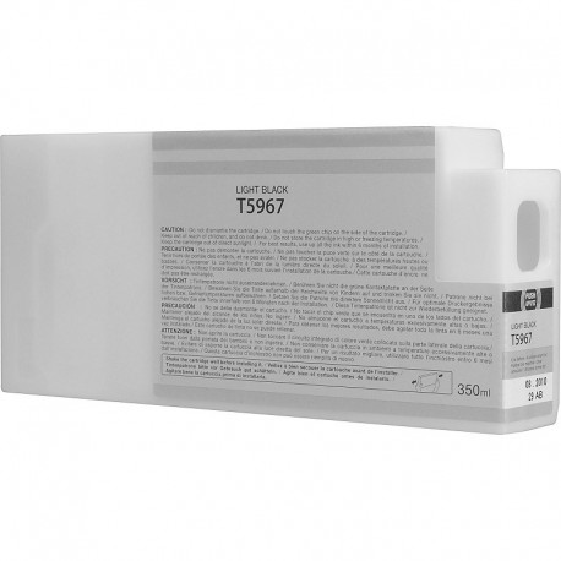 Tinteiro Compatível Epson T5967 Cinzento