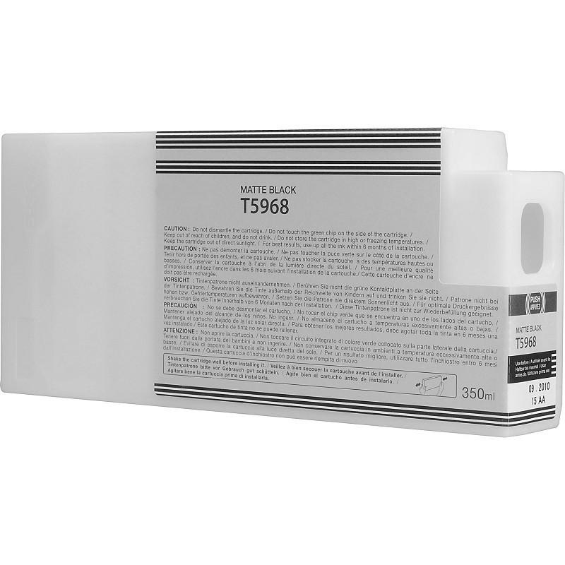 Tinteiro Compatível Epson T5968 Preto Matte
