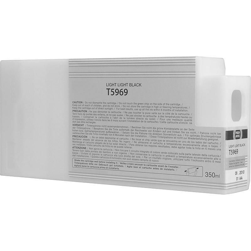 Tinteiro Compatível Epson T5969 Cinzento Claro