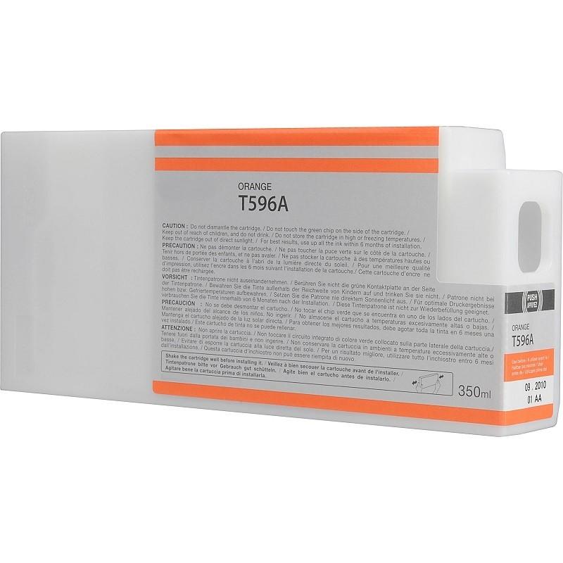 Tinteiro Compatível Epson T596A Laranja