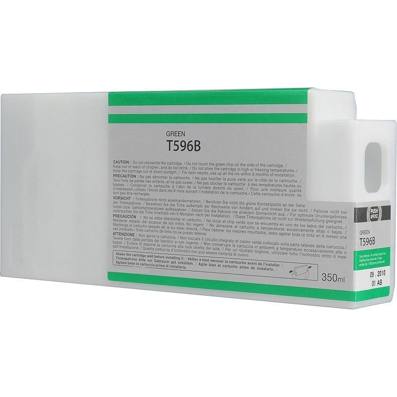 Tinteiro Compatível Epson T596B Verde