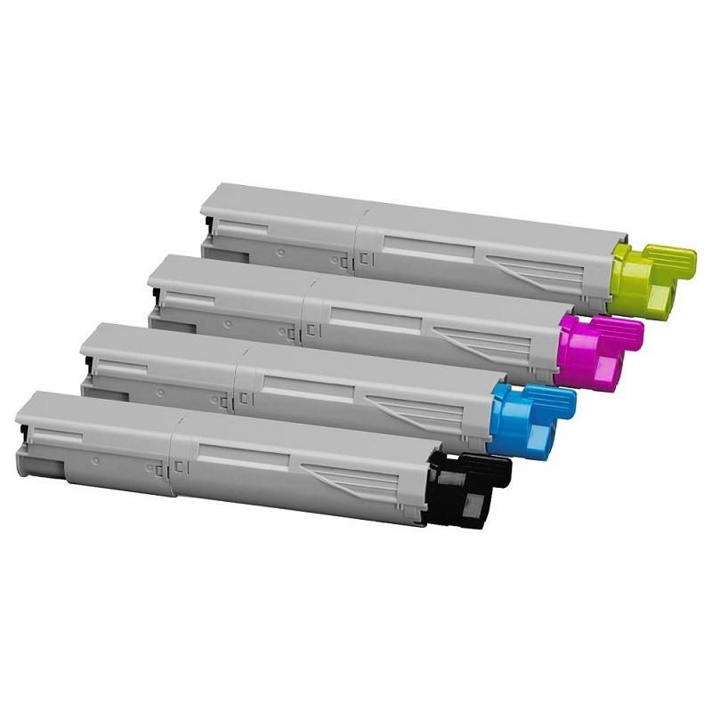 Pack Toner Compatível OKI C3520