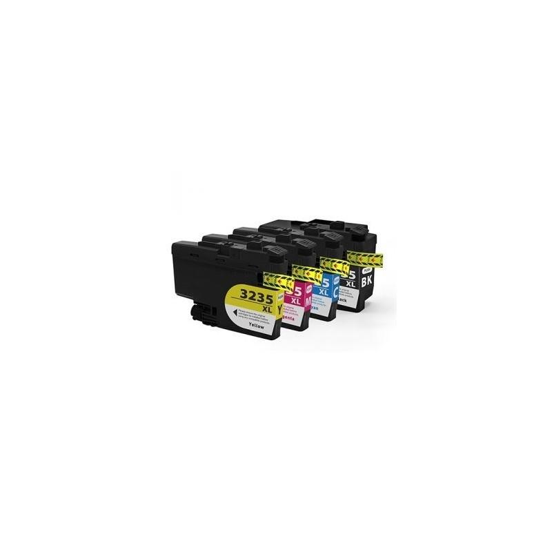 Pack Tinteiros Compatível Brother LC3235XL