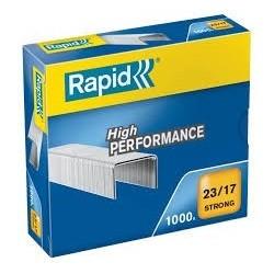 Agrafos 23/17 Rapid (100/140 Folhas) Cx1000