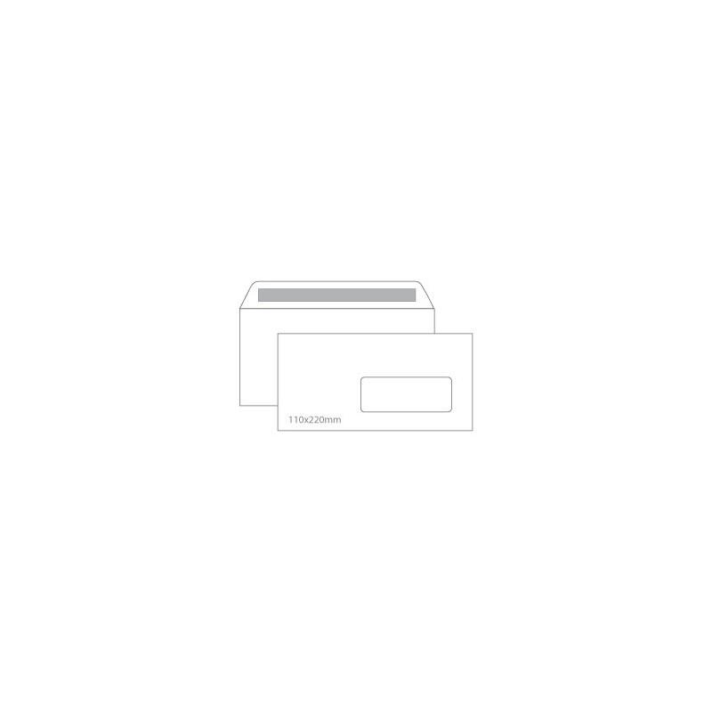 Envelopes 110X220mm c/janela