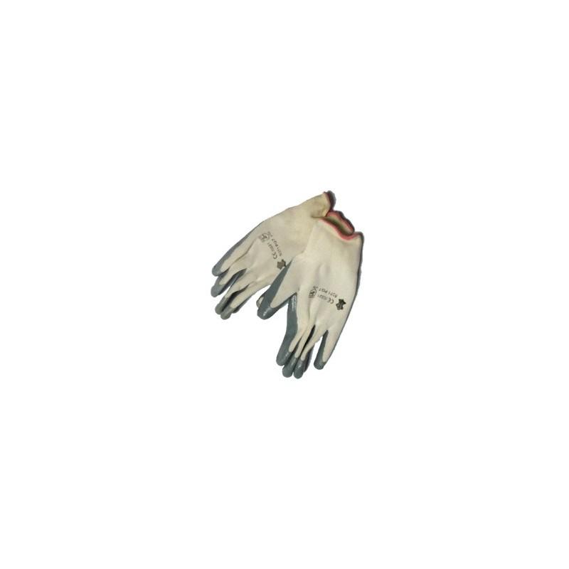 Luvas (Par) Nylon Cinzentas Tamanho 9 (L)