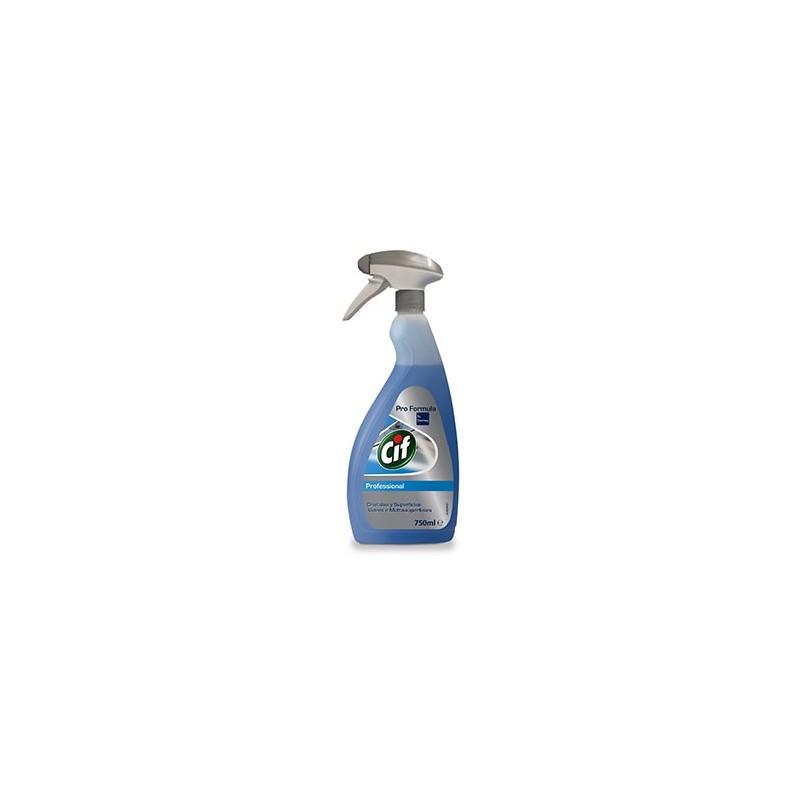 Detergente CIF PF Limpa Vidros e Multisuperfícies 750ml