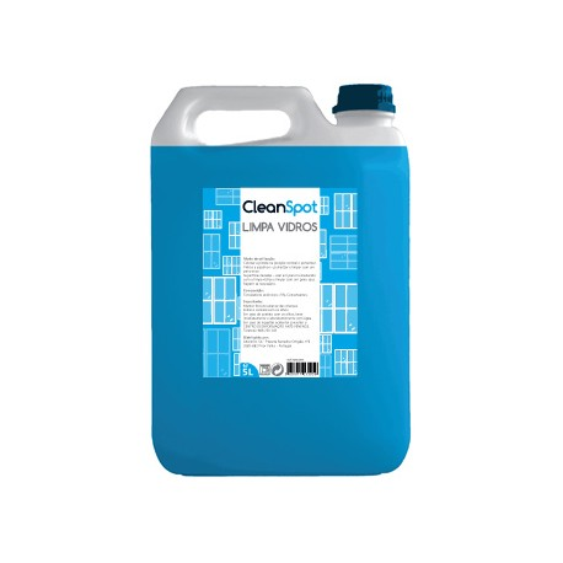 Detergente Limpa Vidros Cleanspot 5L