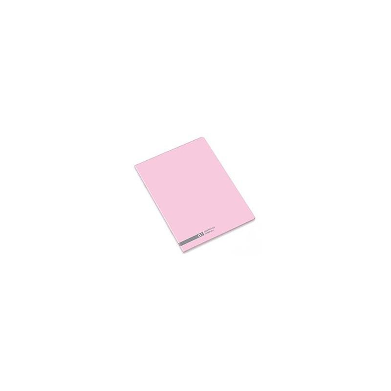 Caderno Agrafado Ambar School Rosa A5 Pautado 70gr 48 Folhas