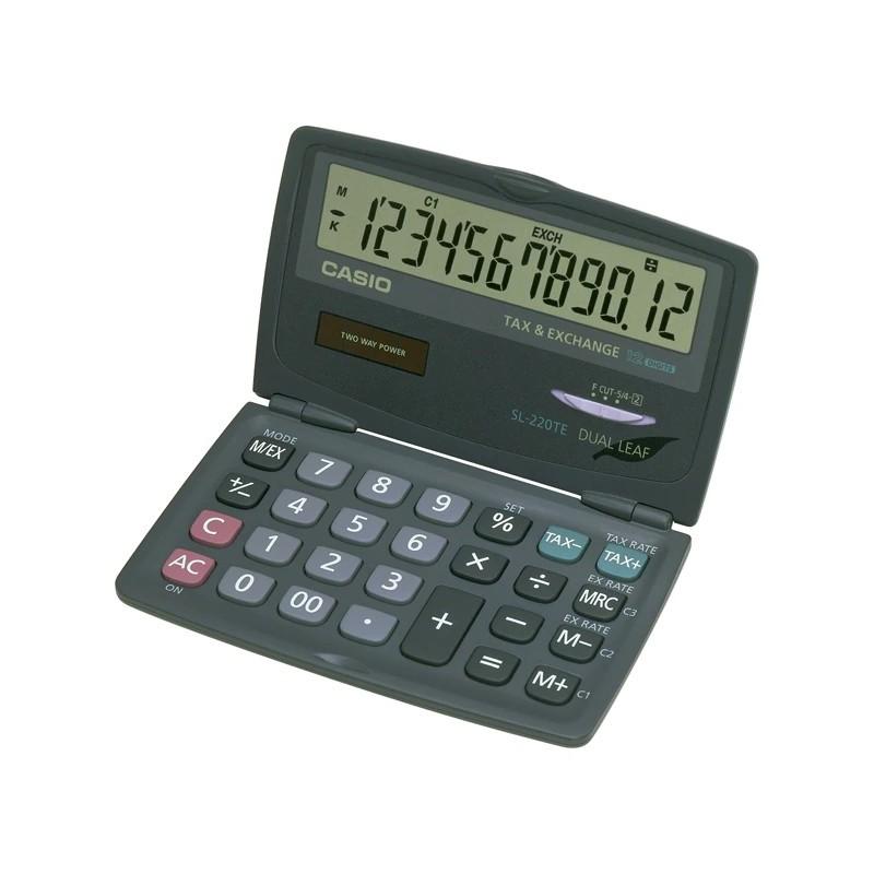 Calculadora de Secretária Casio SL220TE 12 Dígitos