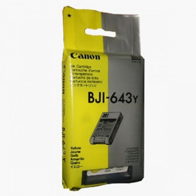 Canon BJI643 Y