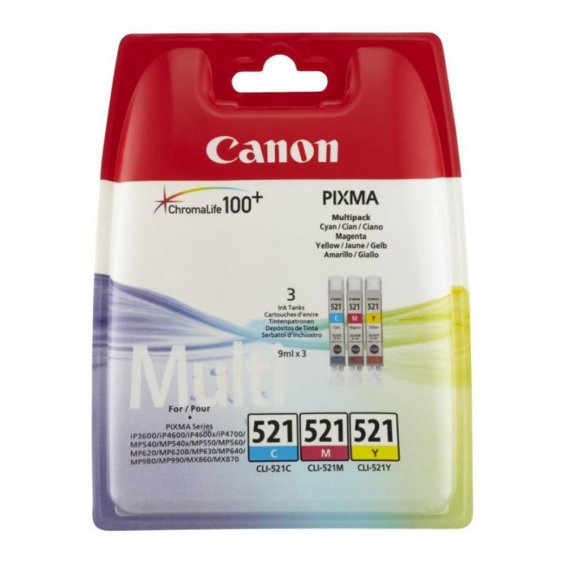 Canon CLI521 Pack Cor