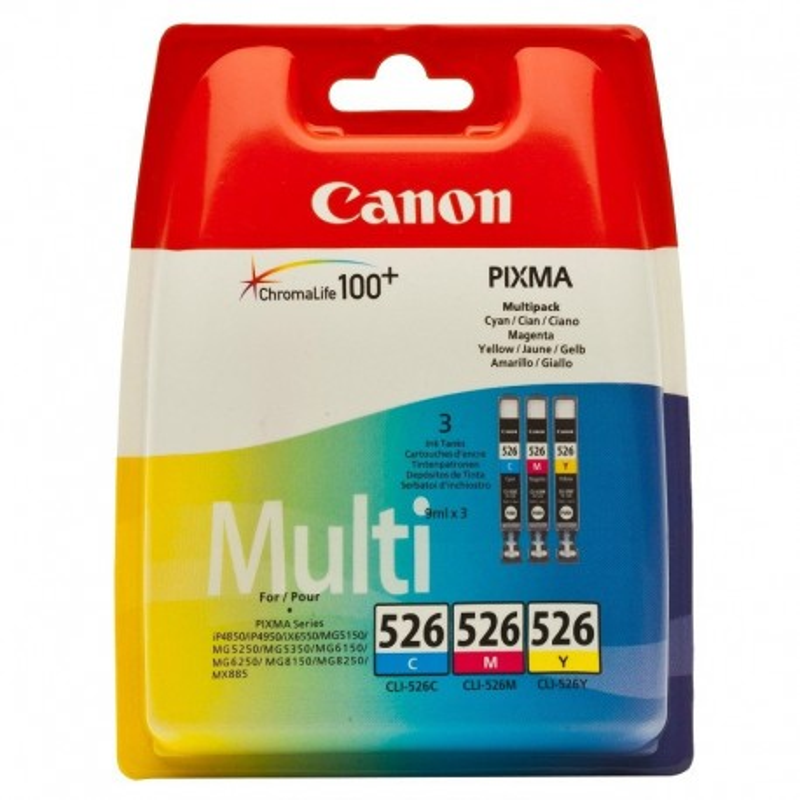 Canon CLI526 Pack Cor
