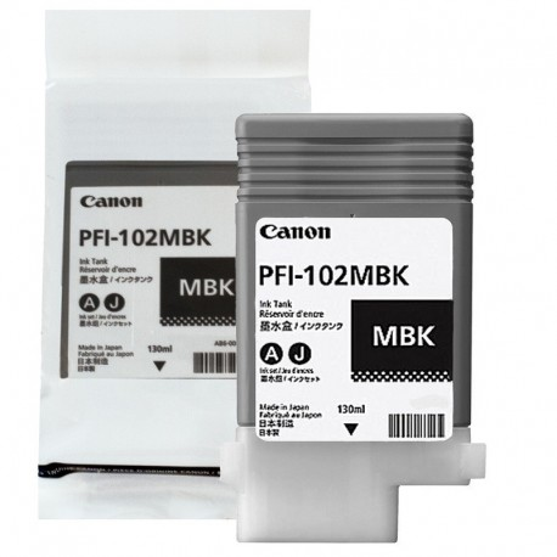 Canon PFI102 MBK