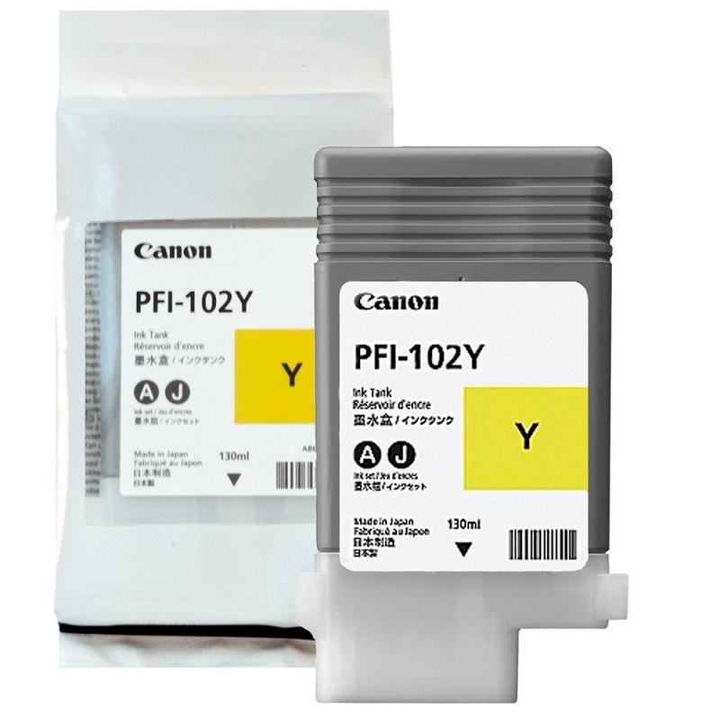 Canon PFI102 Y