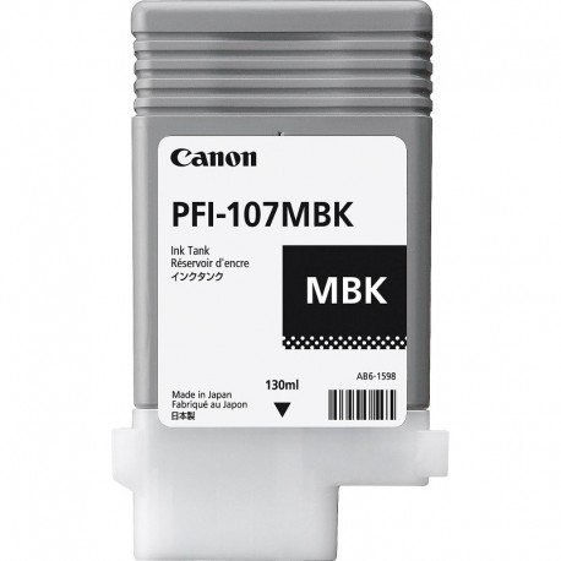 Canon PFI107 MBK
