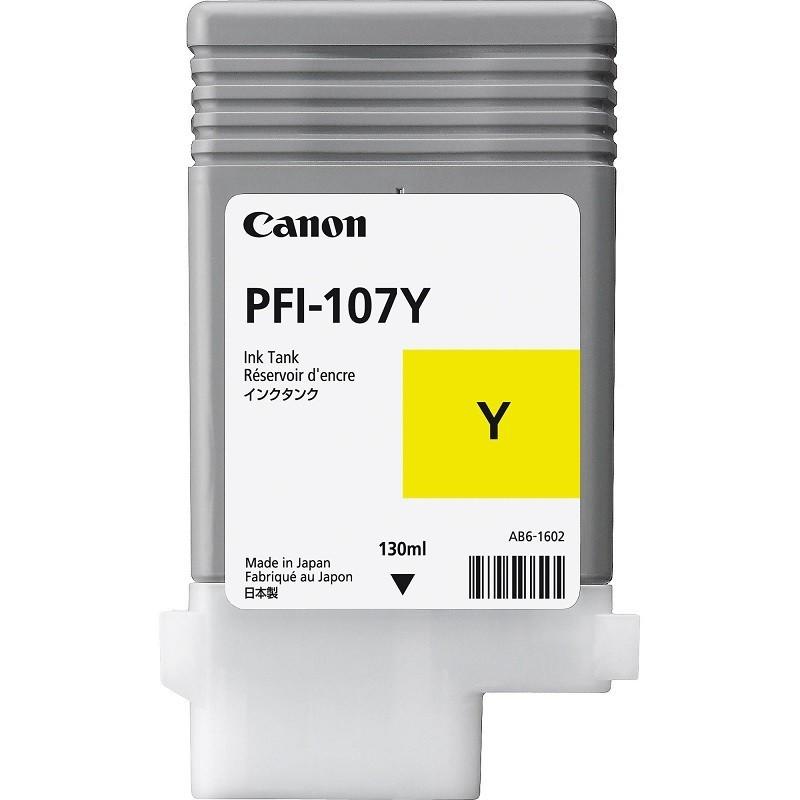 Canon PFI107 Y