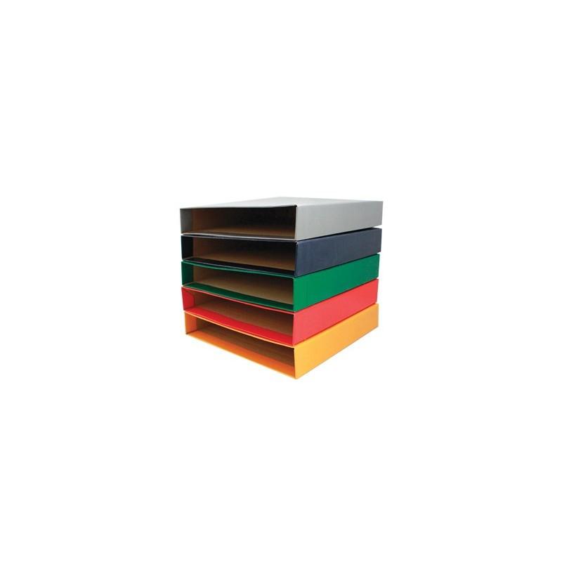 Caixa Cartao Microcanelado p/Pasta Arquivo L40 310x290