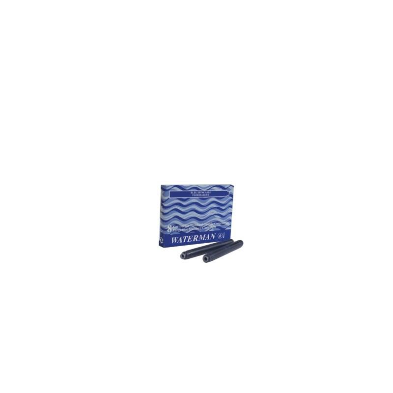 Recarga Caneta Waterman Tinta Azul
