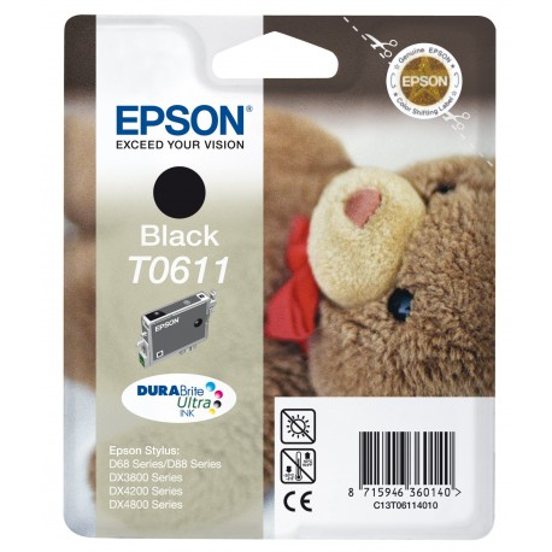 Epson T0611 BK