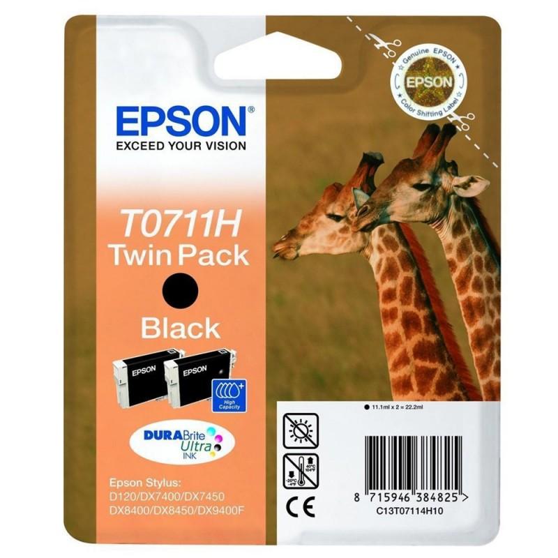 Epson T0711H BK Duplo