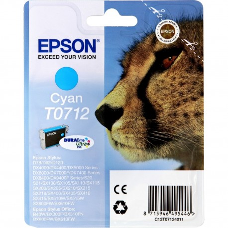 Epson T0712 C