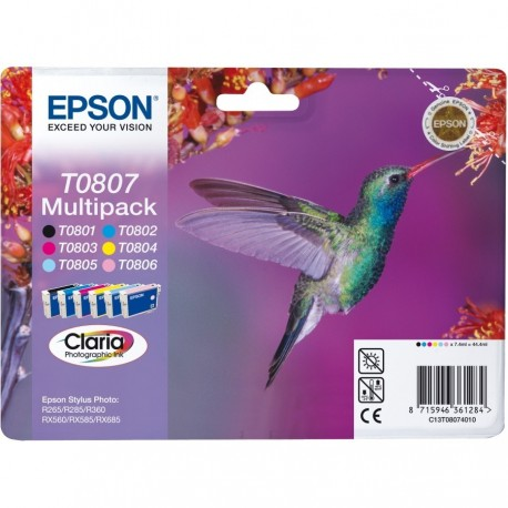 Epson T0807 Pack