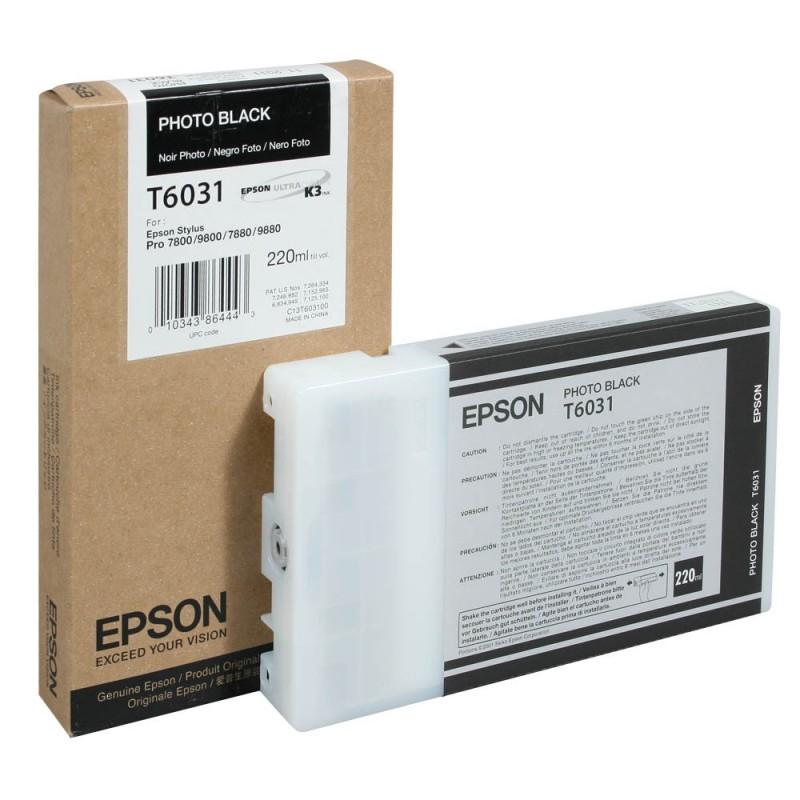 Epson T6031 BK XL