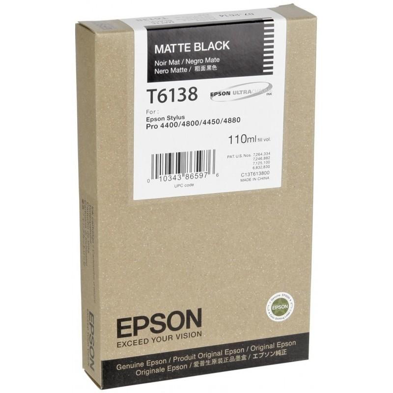 Epson T6138 MBK