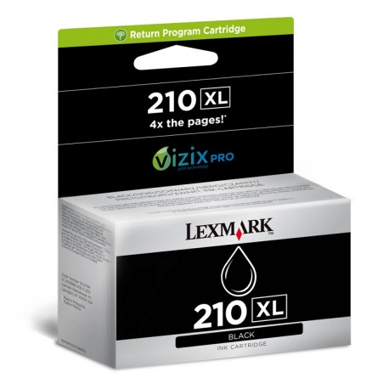 Lexmark N210 BK XL
