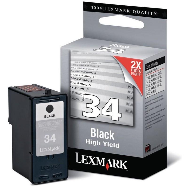 Lexmark N34 BK XL